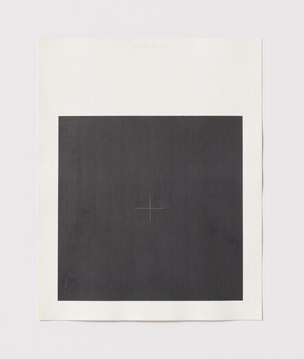 Stephen Antonakos, 'Untitled Cut, O#5', 1977