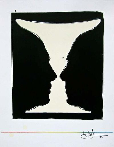 Jasper Johns, 'Two Cup Picasso', 1981