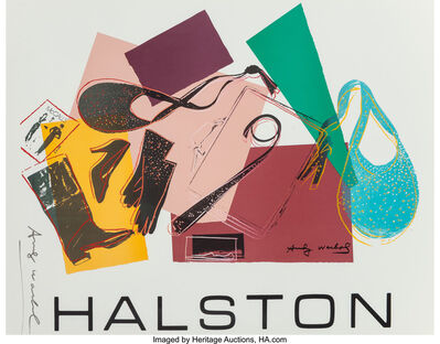 Andy Warhol, 'Halston Advertising Campaign Poster (Women's Accessories)', 1982