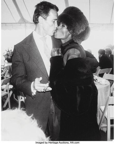 Andy Warhol, 'Arnold Schwarzenegger and Grace Jones', 1986