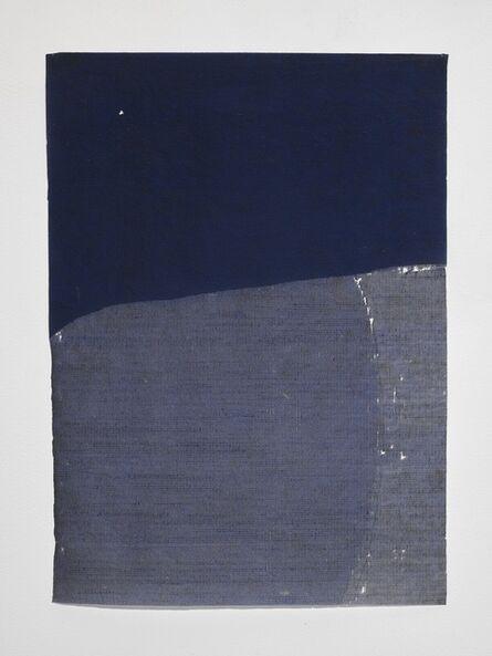 Allyson Strafella, 'blue course ', 2017