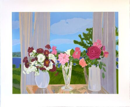 Jane Freilicher, 'Roses and Chrysanthemums', 2014