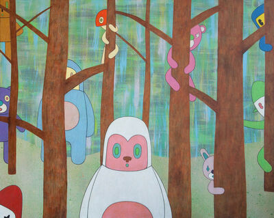 Eddie Kang, 'Garden of forgotten memories', 2013