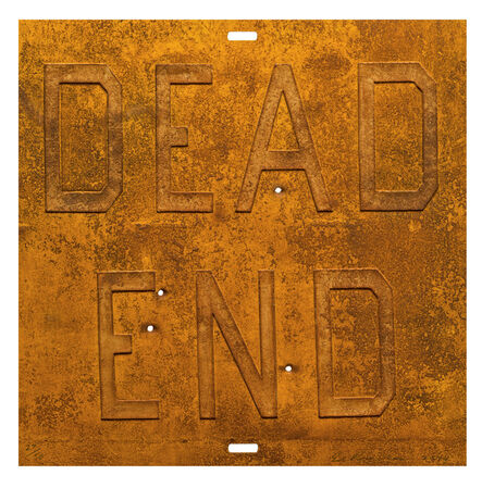 Ed Ruscha, 'Rusty Signs - Dead End 2', 2014