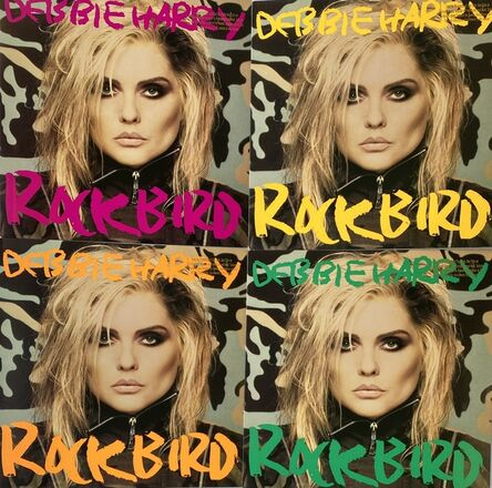 Andy Warhol, 'Andy Warhol Debbie Harry album cover art 1986: set of 4 (Andy Warhol record art)', 1986