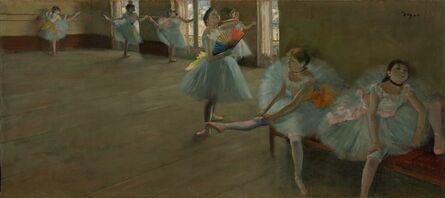 Edgar Degas, 'Dancers in the Classroom', ca. 1880