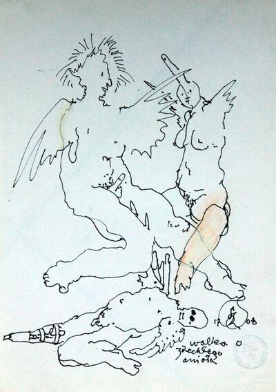 Franciszek Starowieyski, 'Fight for a dead angel', 2008