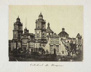 Claude Joseph Désiré Charnay, 'Cathedral de Mexico', 1858