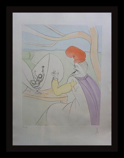 Salvador Dalí, 'Japanese Fairy Tales Peach Boy', 1976