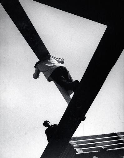 Boris Ignatovich, 'With a board', 1929