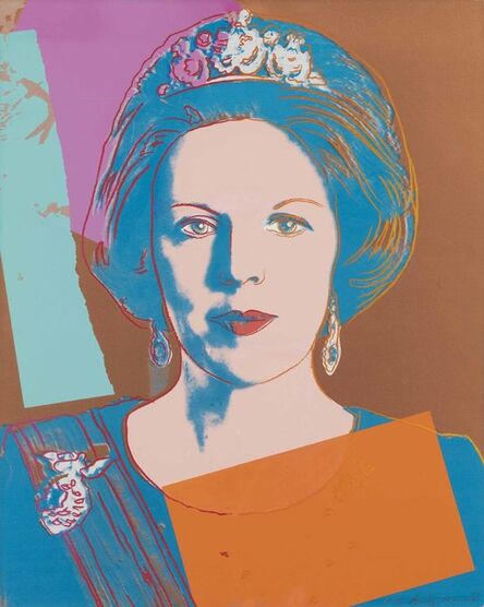 Andy Warhol, 'Queen Beatrix of the Netherlands, from Reigning Queens (Royal Edition)', 1985