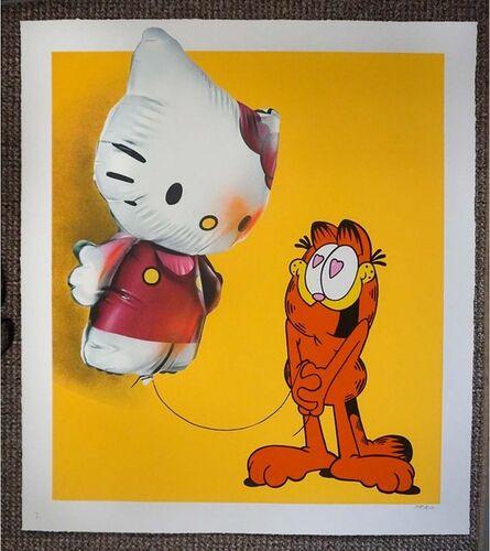 Fanakapan, 'Hellooo Kitty  - Mustard - Printer Proof Edition', 2020
