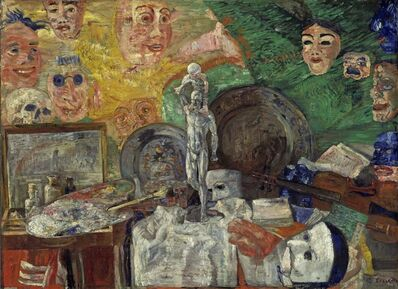 James Ensor, 'Still Life in the Studio'