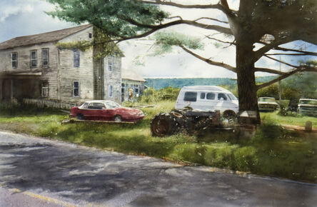 John Salt, 'Catskill Ridge', 2017