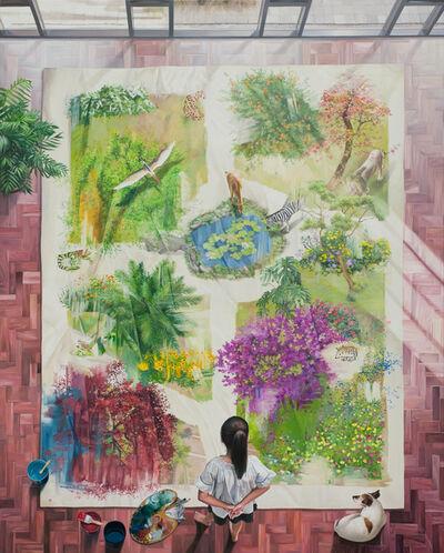 Bae Joon Sung, 'The Costume of Painter - at the studio- garden field 3', 2021