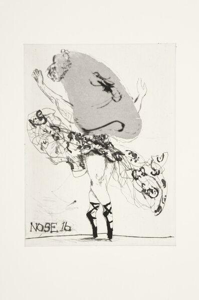 William Kentridge, 'Nose 16', 2009