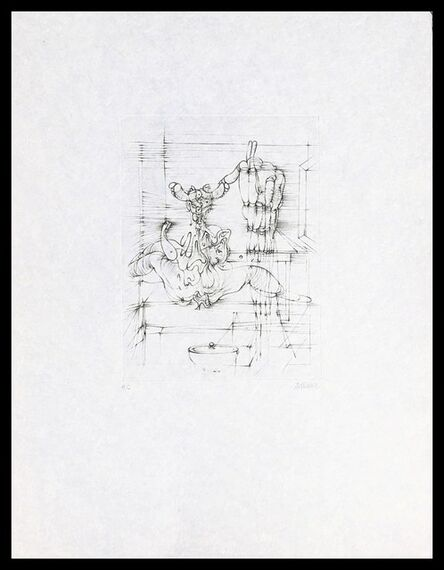 """Hans Bellmer, 'Untitled, from the portfolio """"Hommage à Picasso"""" (Homage to Picasso)', 1973"""