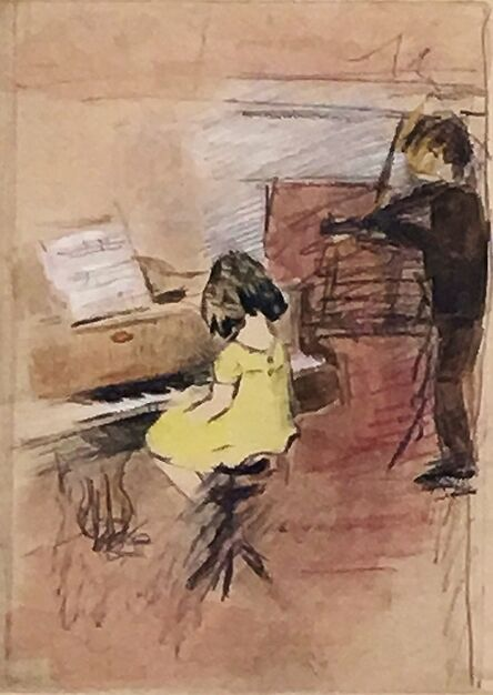 Margery Austen Ryerson, 'The Young Musicians', ca. 1920