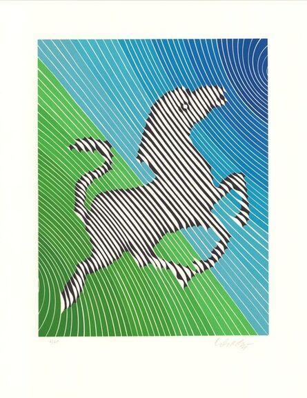 Victor Vasarely, 'Zebra No. 2 (I)', 1980-1990