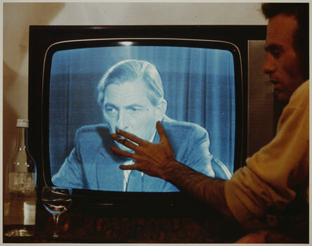 Michael Druks, 'Making Him Smoke', 1974