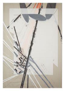 Barry Le Va, 'Installation Study - Expanding Foundations: Eliminating Foundations', 1979