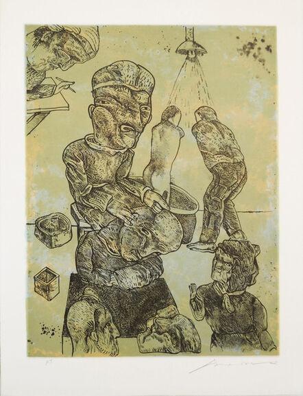 Jose Luis Cuevas, 'Trepanación', 1997