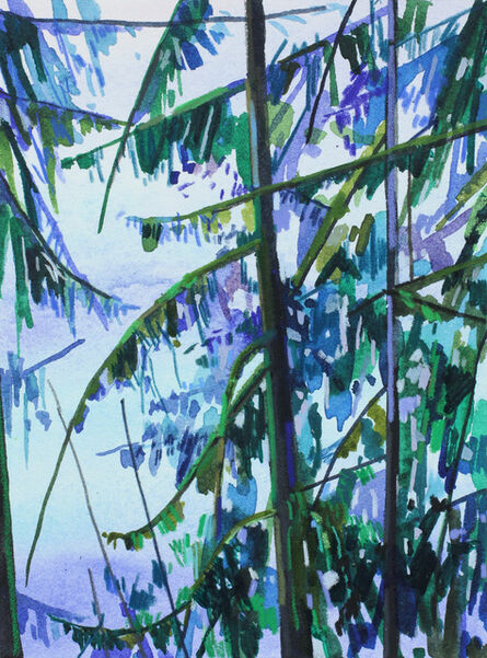 Claire Sherman, 'Trees and Water'