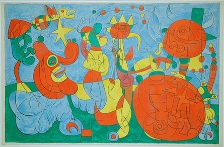 Joan Miró, 'III. Ubu Roi: Chez le Roi de Pologne', 1966