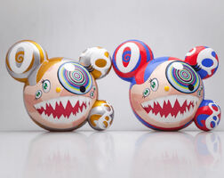Takashi Murakami, 'SIGNED Mr. DOB Complexcon set of 2 ', 2016