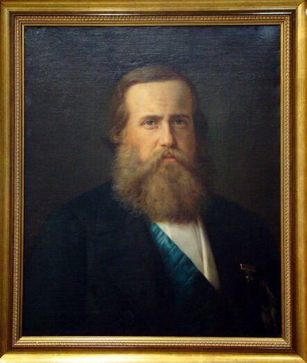 ÉDOUARD VIÉNOT, 'RETRATO DE D. PEDRO II'