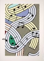 Roy Lichtenstein, 'Composition III', 1996