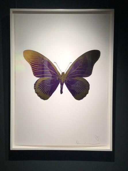 Damien Hirst, 'The Souls IV (Imperial Purple/Oriental Gold) UNIQUE', 2010