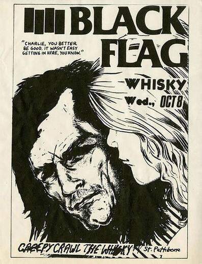 Raymond Pettibon, 'Rare Early Raymond Pettibon Punk Flyer', 1980