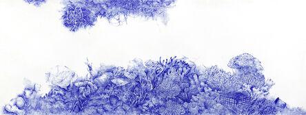Joo Lee Kang, 'Blue on Blue #26', 2015