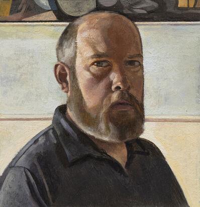 Jeremy Long, 'Self-Portrait in grey shirt', 2020