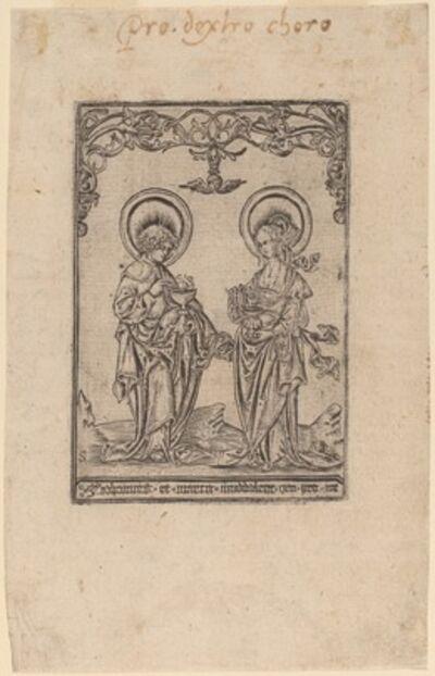 Master S, 'Saint Mary Magdalene and Saint John the Evangelist'