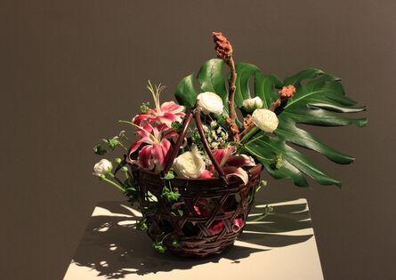 Wada Waichisai II, 'Ryurikyo Style Flower Basket', 1920-1933