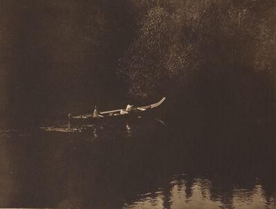 Edward S. Curtis, 'On Klickitat River', 1907-1930