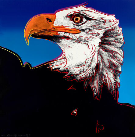 Andy Warhol, 'Bald Eagle, from Endangered Species (F. & S. 296)', 1983