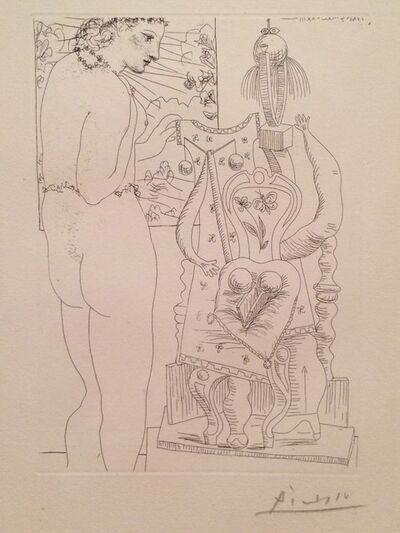 Pablo Picasso, 'Modèle et sculpture surrealiste (Marie-Thérèse)', 1933