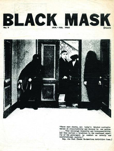 Black Mask, 'Black Mask Issue No. 9', 1968