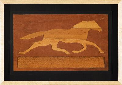 C.K. Wilde, 'Marquetry Pony', 2009