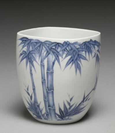 'Fresh Water Jar (Mizusashi) with Bamboo', Late 18th century