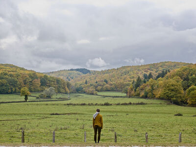 Elina Brotherus, 'L'automne, sur la route de Chalon', 2011