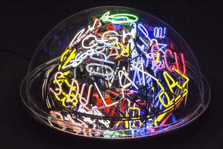Alê Jordão, 'Neon Bubble', 2020