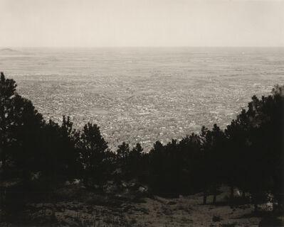 "Robert Adams (b.1937), '""East from Flagstaff Mountain, Boulder County, Colorado""', 1975"