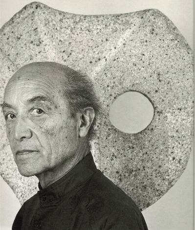 Robert Mapplethorpe, 'Isamu Noguchi', 1986