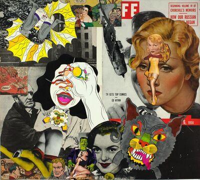 Keiichi Tanaami, 'Collage Book9_22 (1969-1975)', 1973