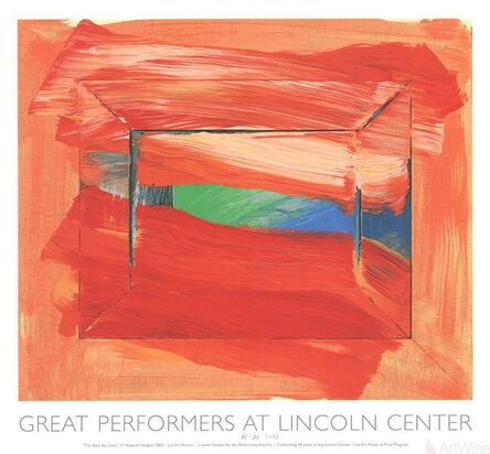 Howard Hodgkin, 'The Sky's The Limit', 2002