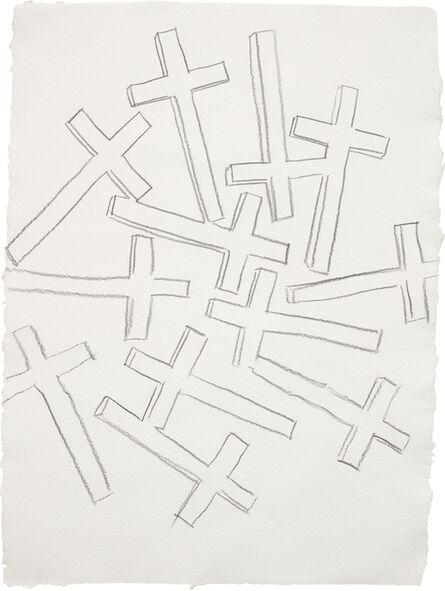 Andy Warhol, 'Crosses', ca. 1981-1982.